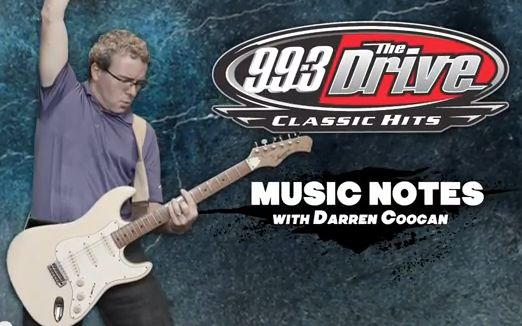 Drive Music Notes w/ Darren Coogan - March 10th