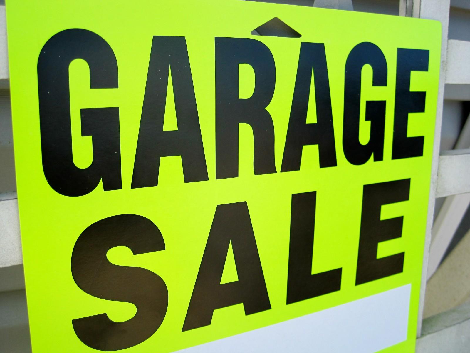 Garage Sale for Ivy Kanis
