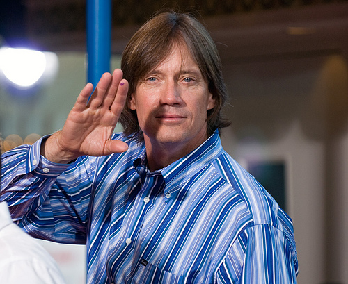 Hercules and the Leprechaun: Coog and Kevin Sorbo