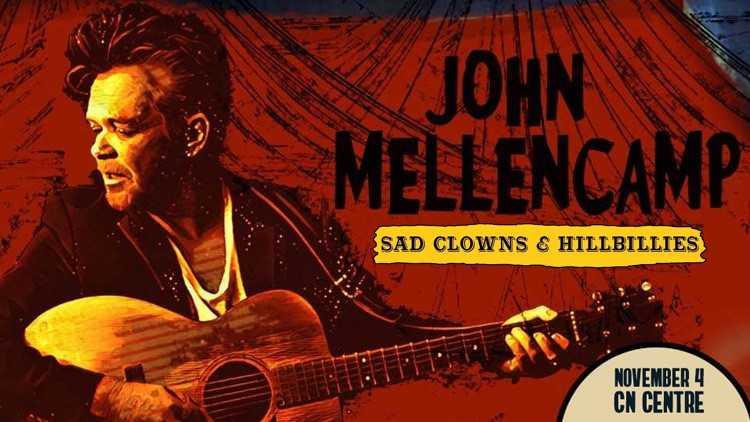 John Mellencamp November 4th