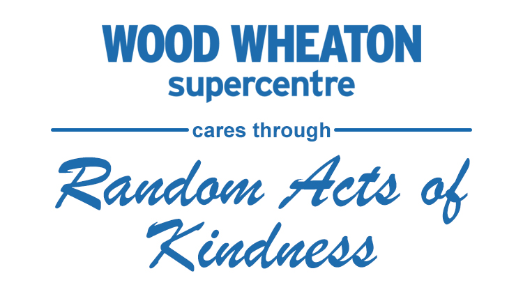 Wood Wheaton Cares through Random Acts of Kindness