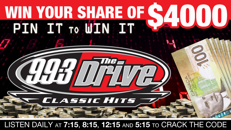 "The Drive's ""Pin It To Win It!"""