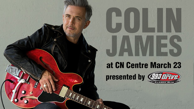 Colin James with Barney Bentall & Marty O'Reilly