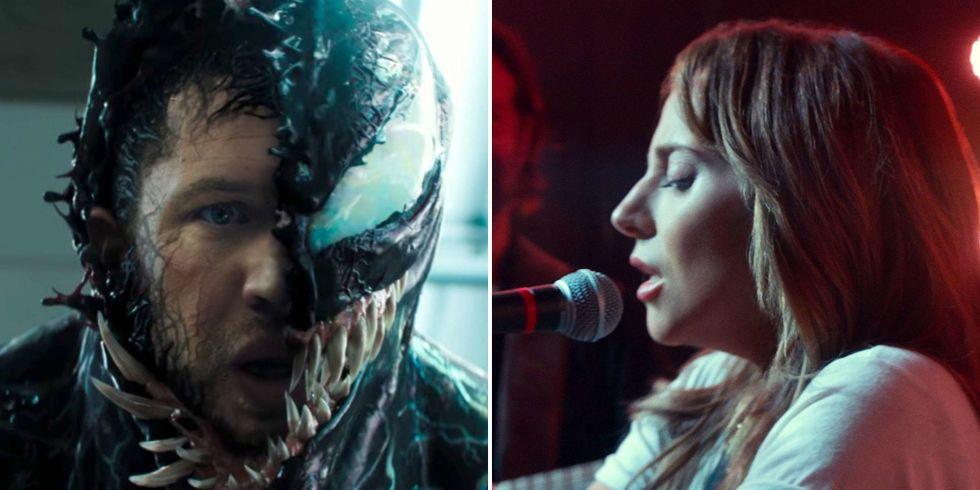 "Hollywood Weekend News : Venom ""eats"" Lady Gaga at the Box Office - October 7, 2018"