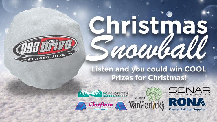 99.3 The Drive's Christmas Snowball