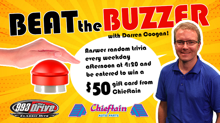 Beat The Buzzer with Darren Coogan& Chieftain Auto Parts