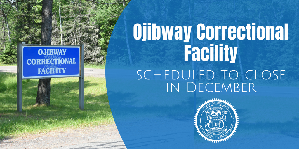 Ojibway Correctional Facility Closing In December