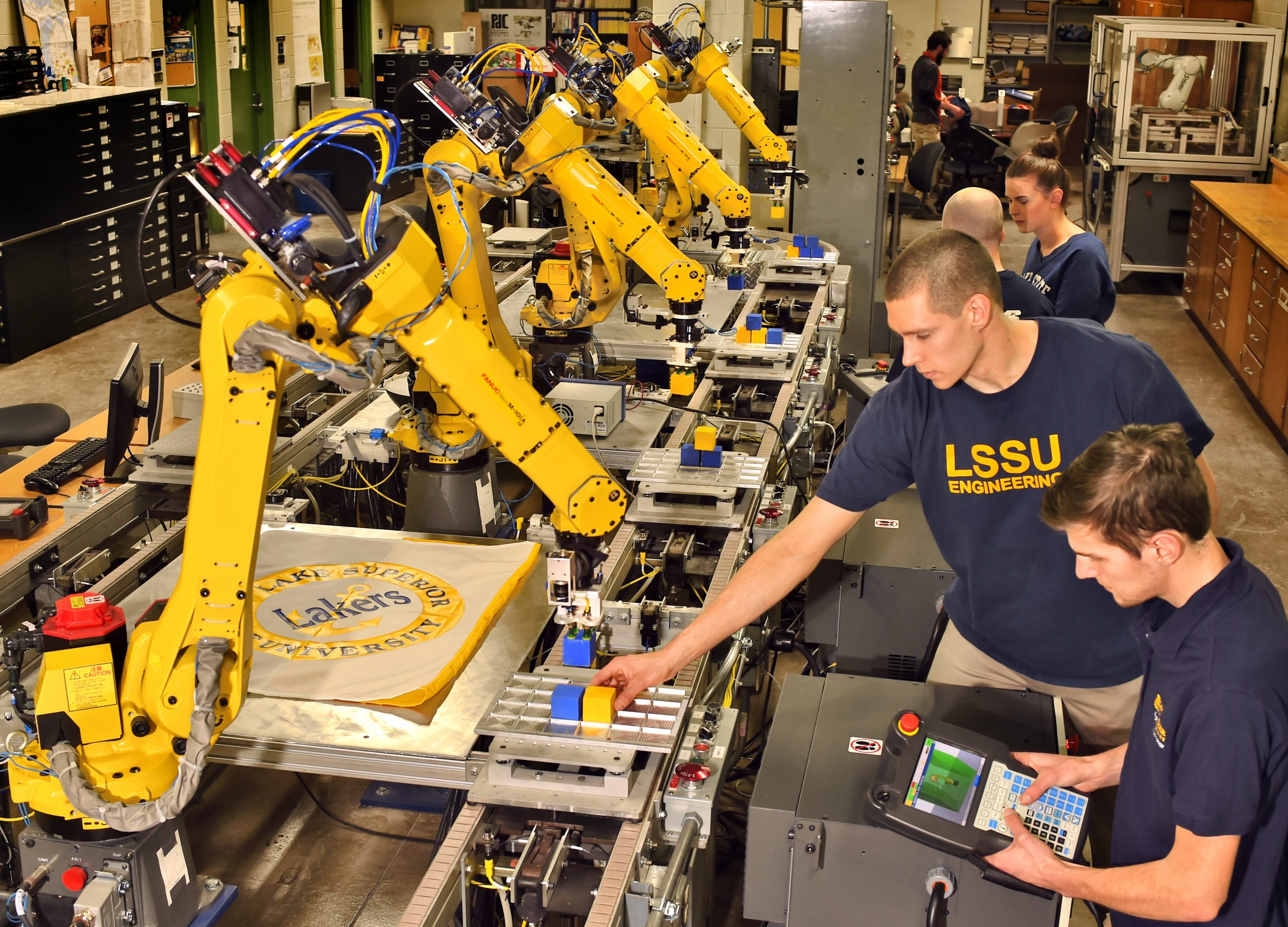 Lake State To Offer Robotics Engineering Program