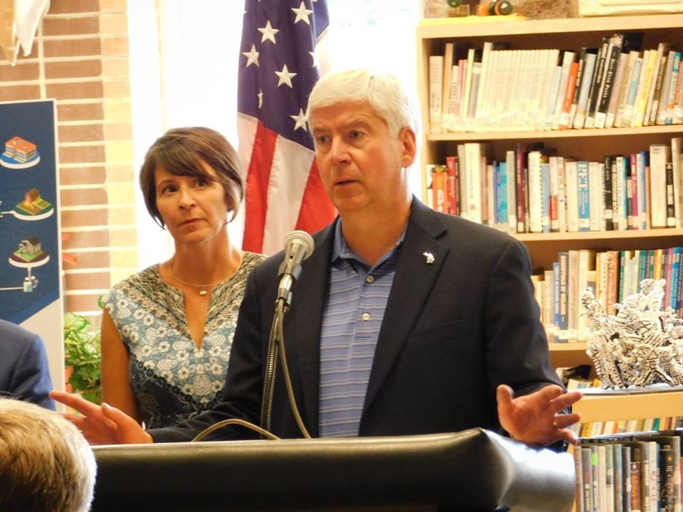 Snyder Says State Will Match Federal Flood Funds