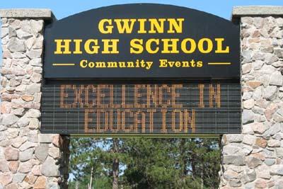New Gwinn Tennis Court Grand Opening Thursday