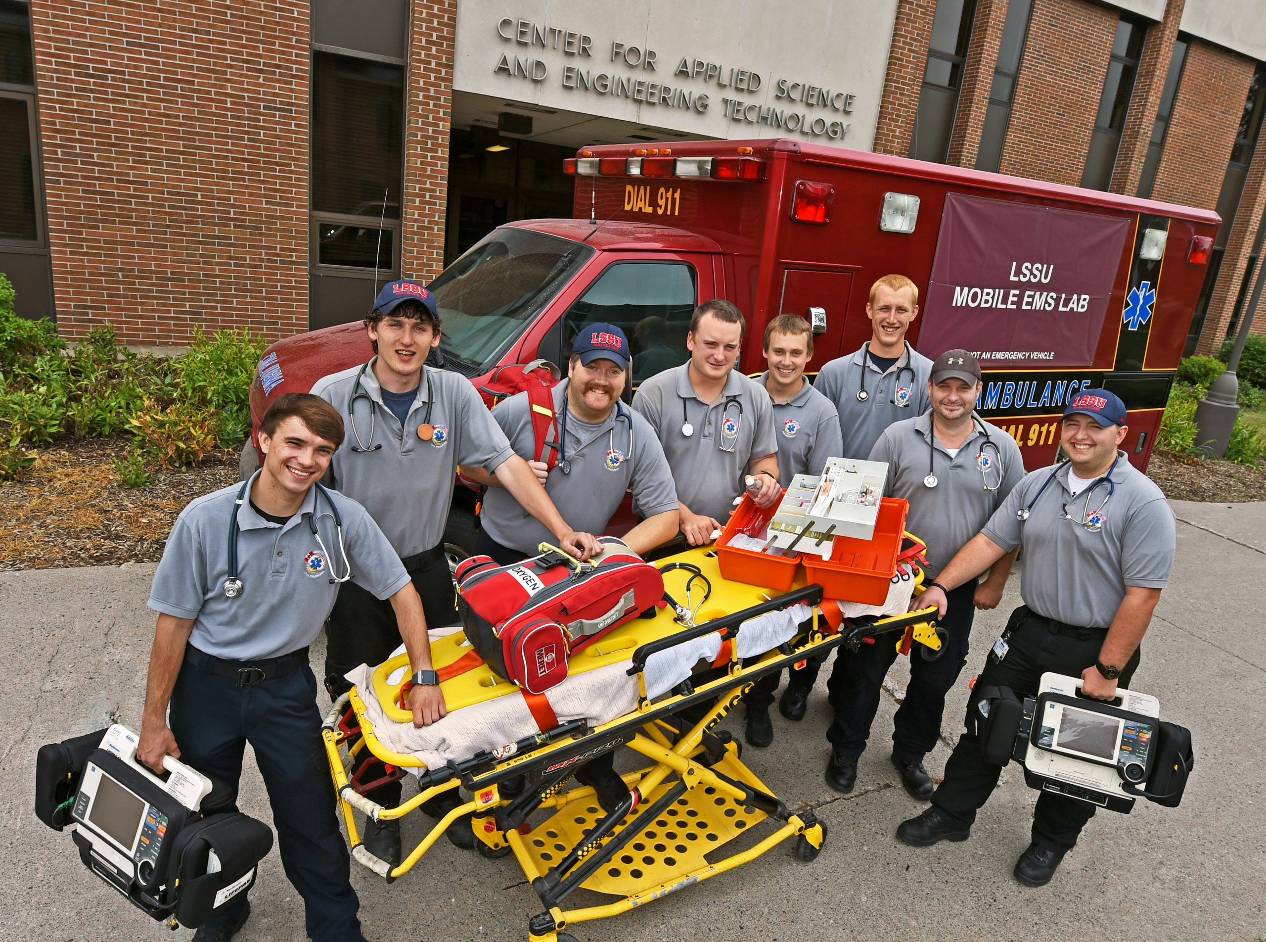 Lake State Paradmedic Students Earning Credentials