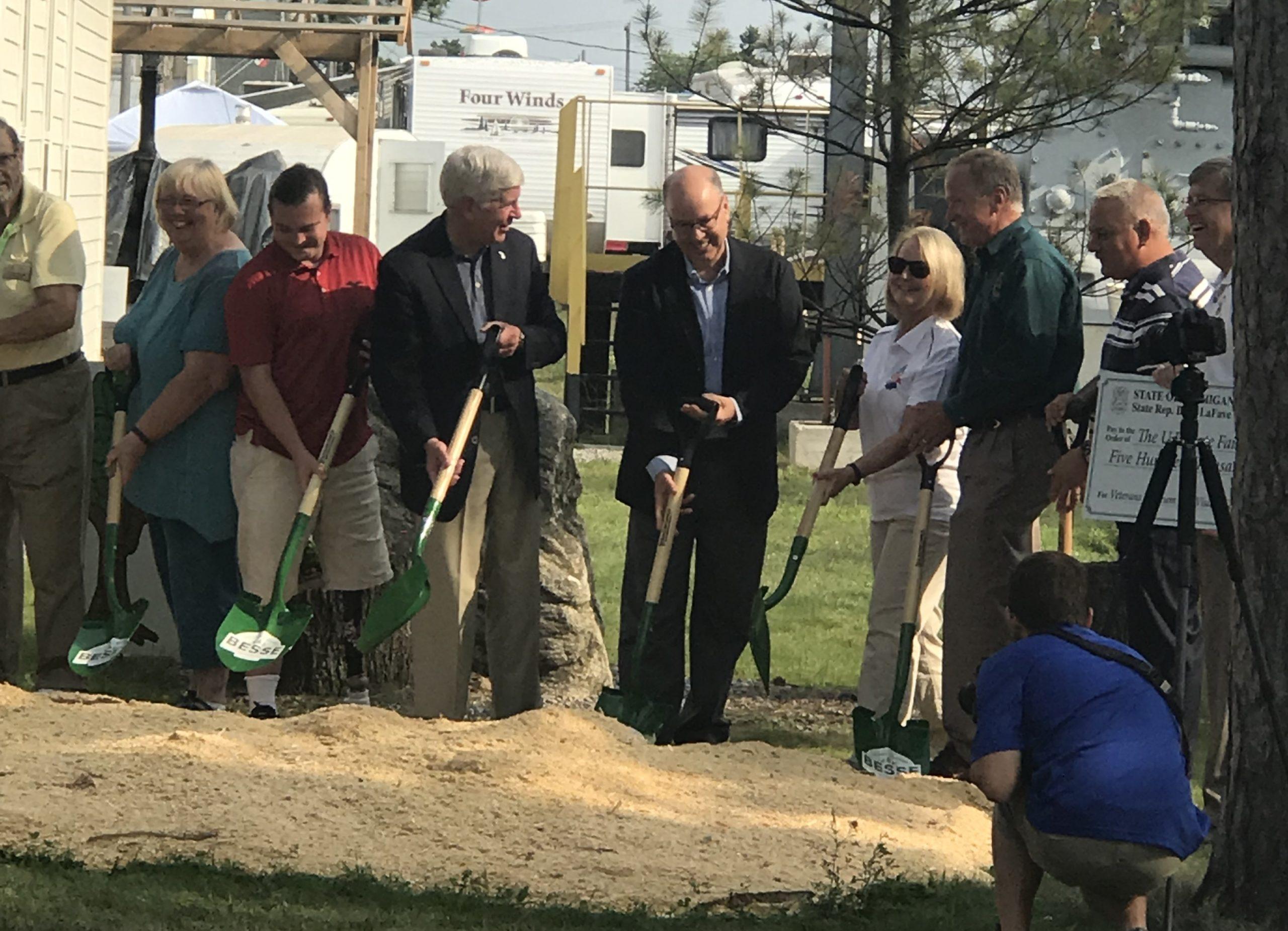 New Delta County Chamber Groundbreaking