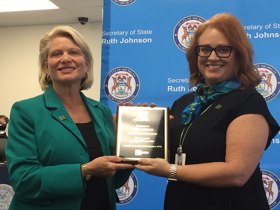 Secretary of State Honored For Organ Donations