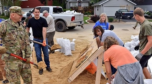 Wisconsin Governor Visits Flooded Communities