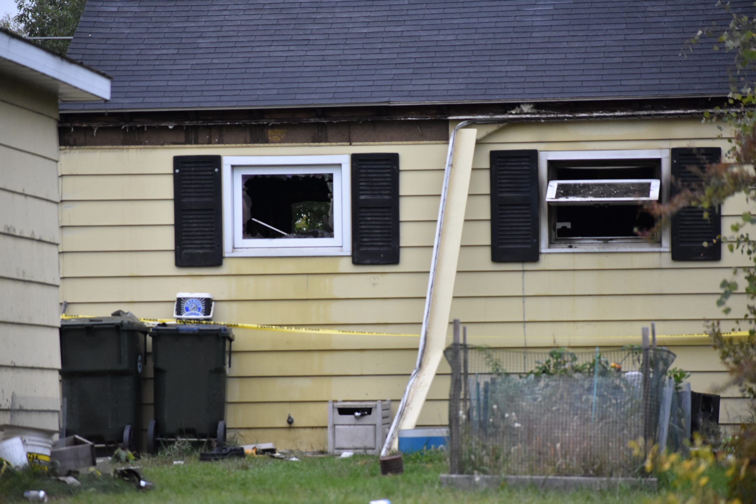Home Damaged In Fire On Escanaba's North Side