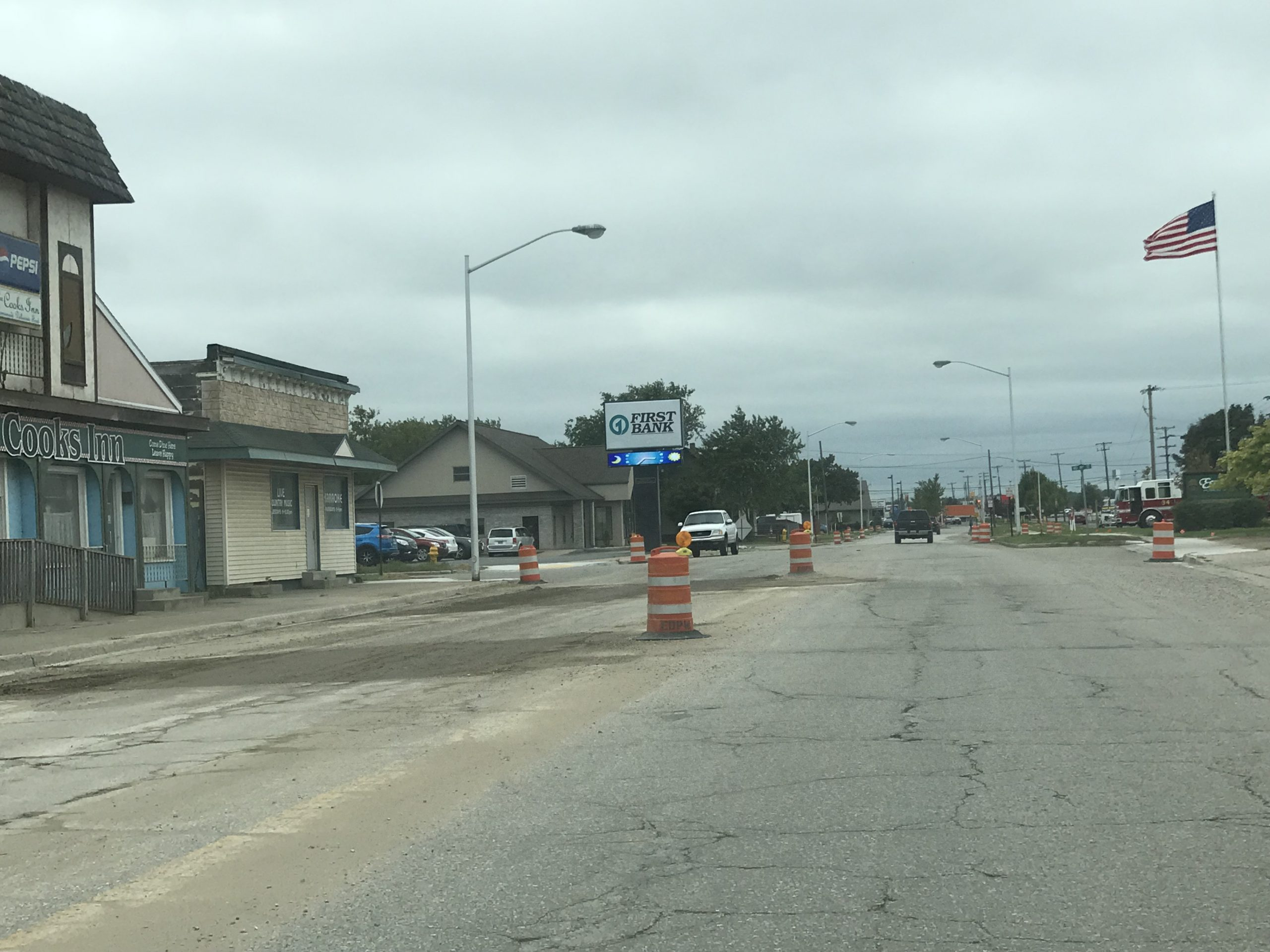 Escanaba's Third Ave. North In Rough Condition