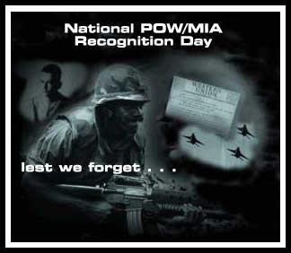 POW/MIA Recognition Ceremony Set Friday