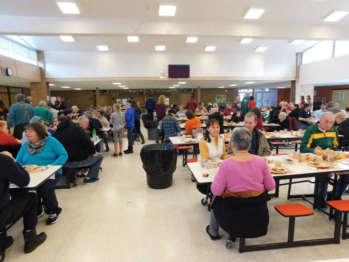 Preparations For 39th Escanaba Thanksgiving Dinner