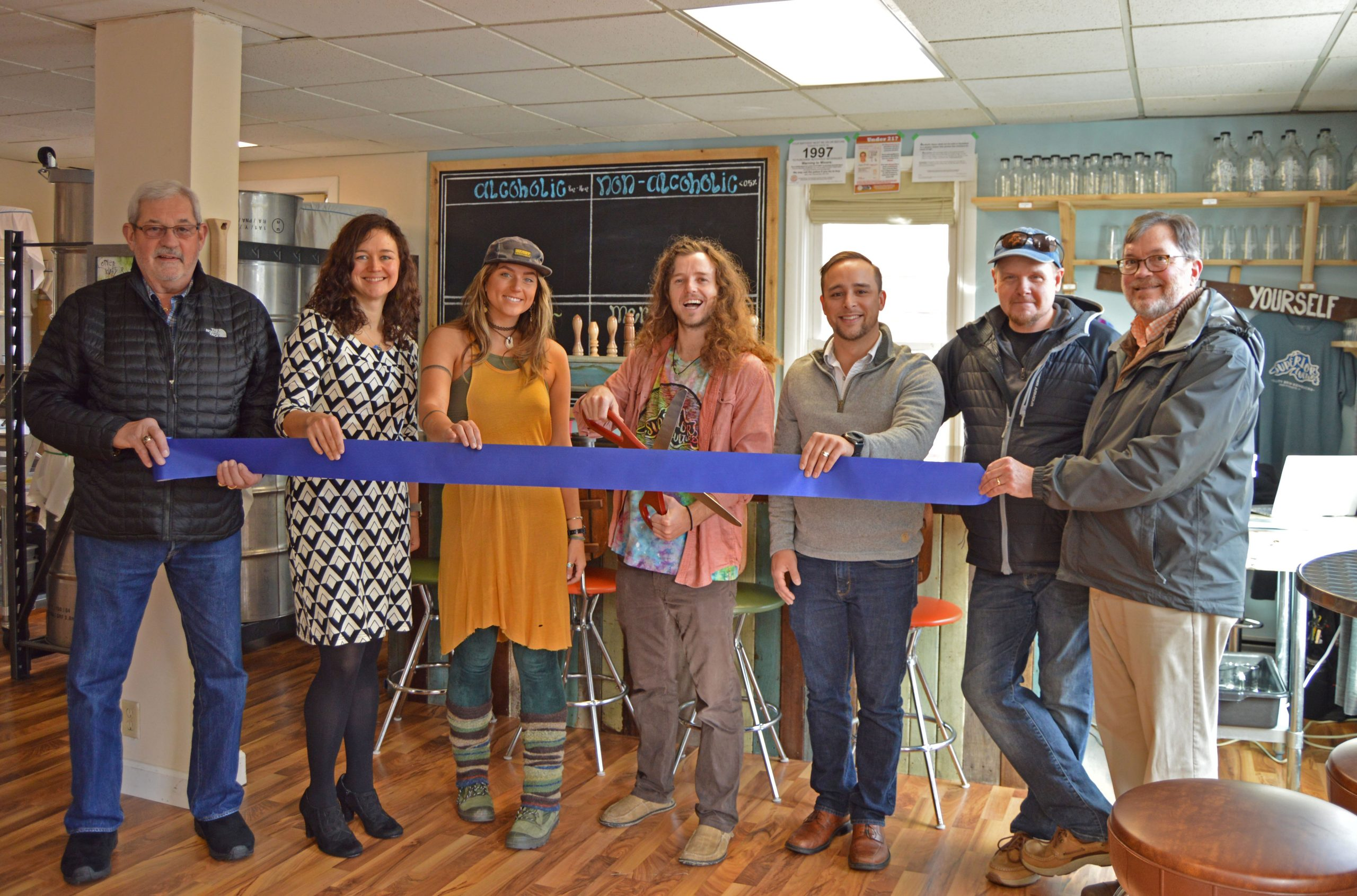 Ribbon Cutting For New Marquette Storefront