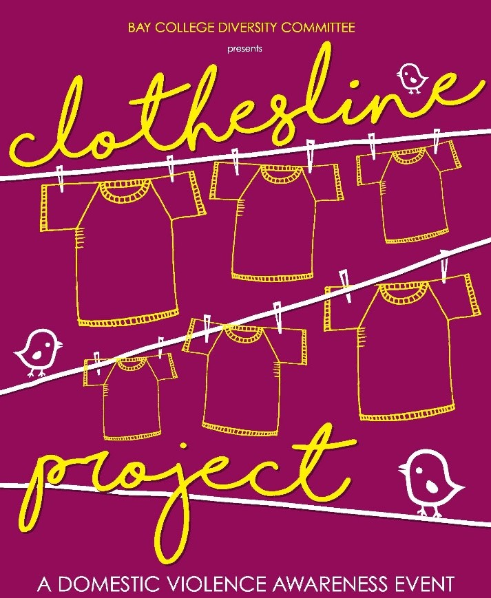 Clothesline Project To Promote Domestic Violence Awareness