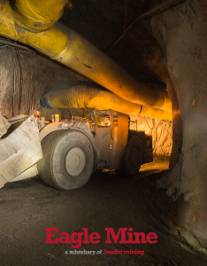 Eagle Mine Holding Four Community Forums In November