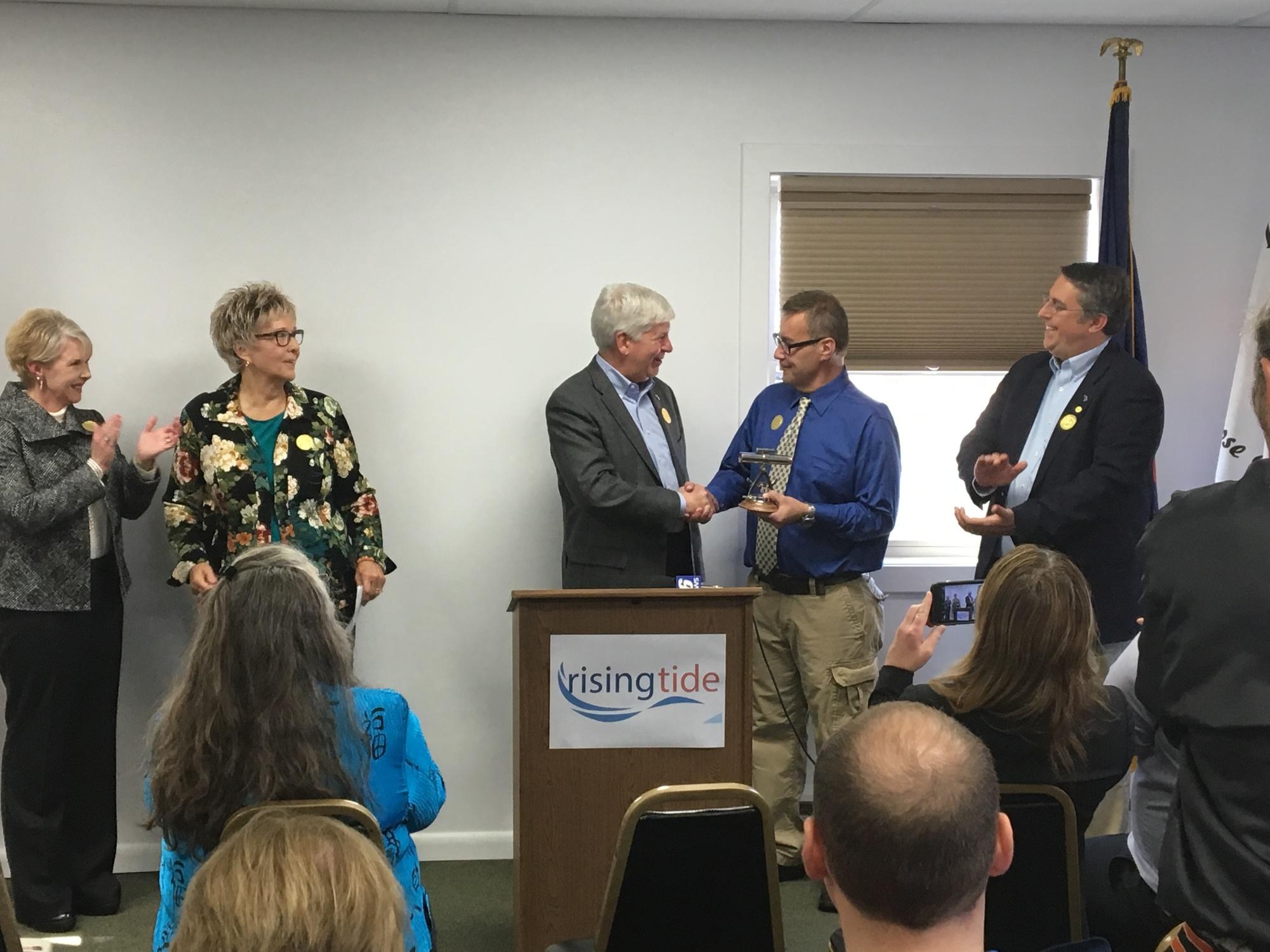 Governor Praises Newberry For Economic Development Plans