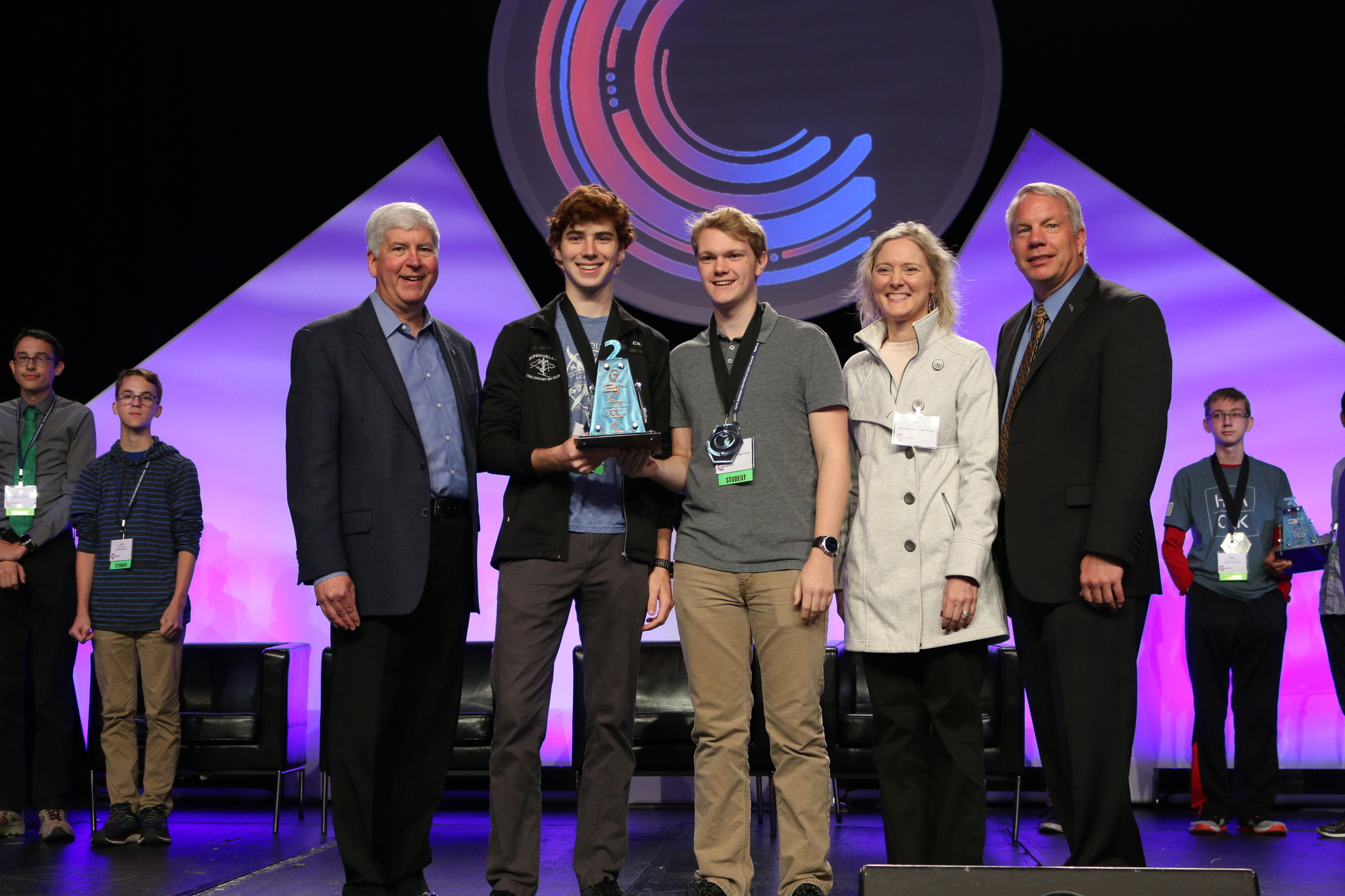 Marquette Students Runners-Up In State Cyber Competition