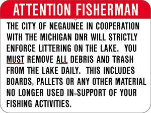 Negaunee To Crack Down On Teal Lake Littering