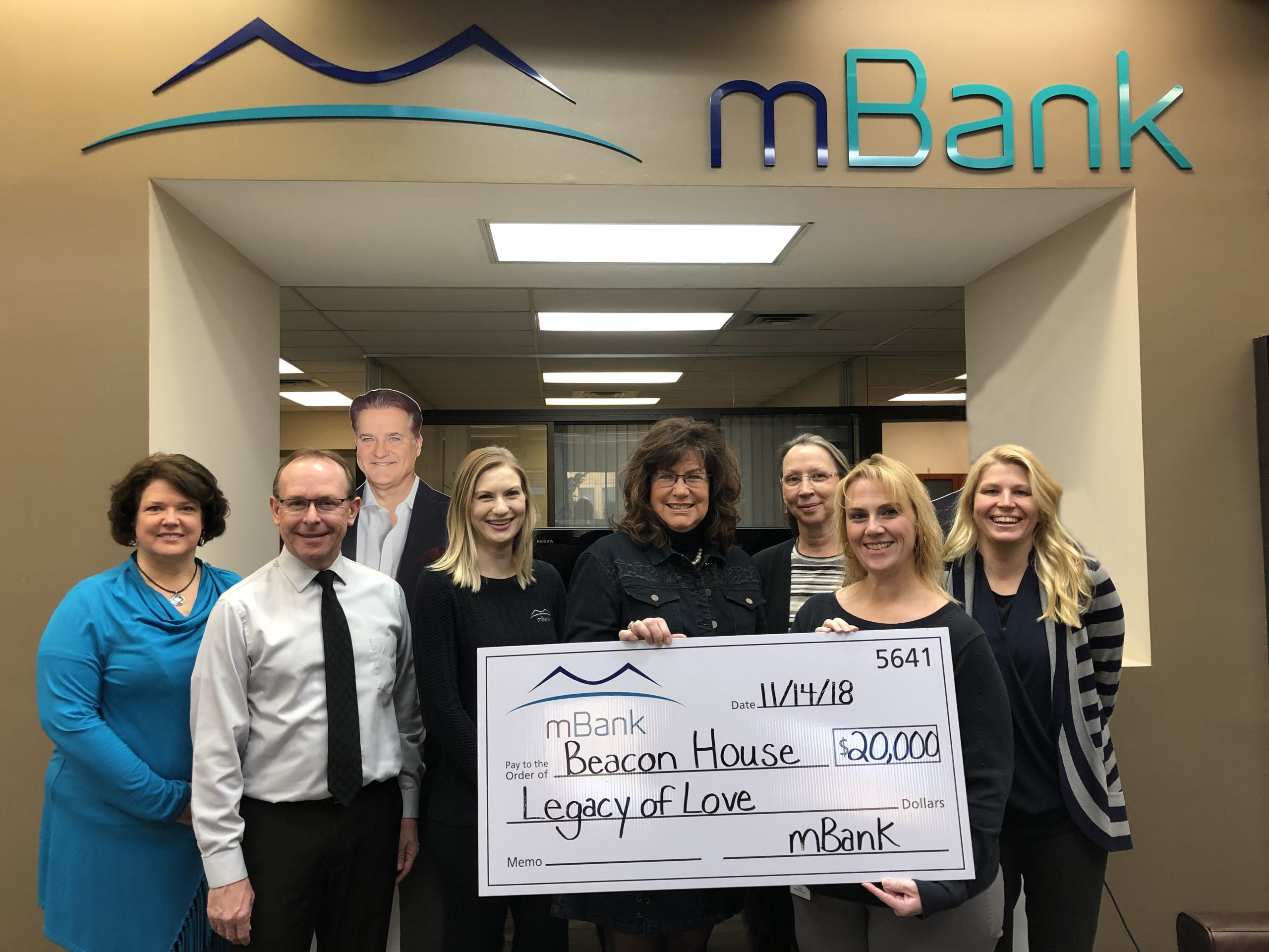 mBank Donates $20,000 To Beacon House Project