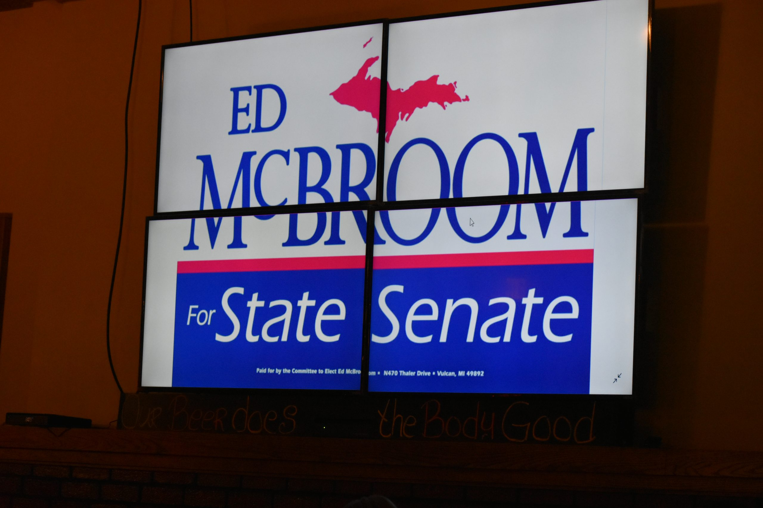 Former Rep. McBroom Elected To Michigan Senate