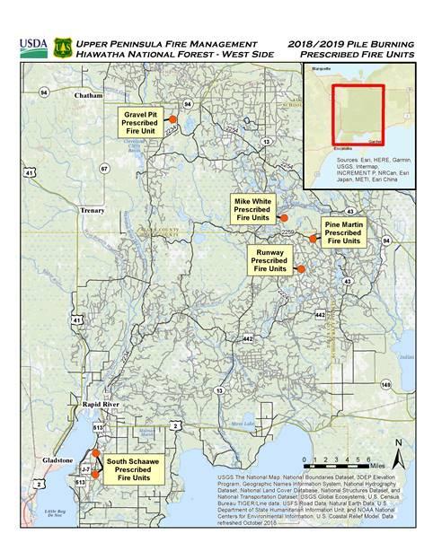 Hiawatha Forest Plans Several Prescribed Burns