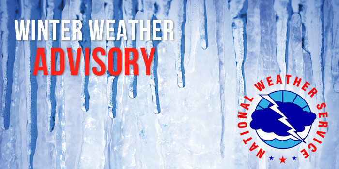 Winter Weather Advisory For Delta, Schoolcraft Counties