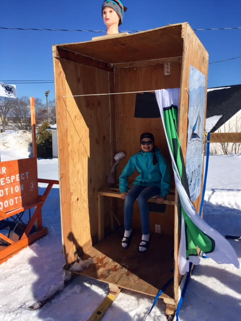 Sault Ste. Marie Planning Outhouse Races ... on office plans, summer plans, bicycle plans, smokehouse plans, room plans, floor plans, boathouse plans, chicken coop plans, whimsical crooked playhouse plans, courtyard plans, barn plans, bunkhouse plans, wood plans, yard plans, shed plans, christmas plans, gardening plans, quail cage plans, composting toilet plans, attic plans,