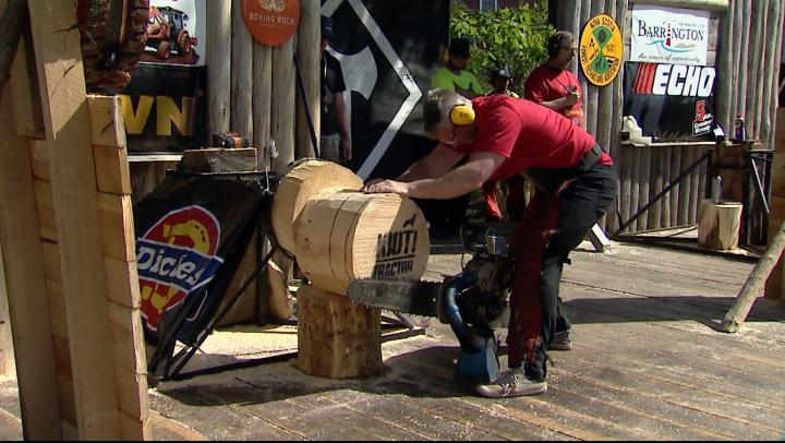 This Weekend – The NS Lumberjack Competition in Barrington