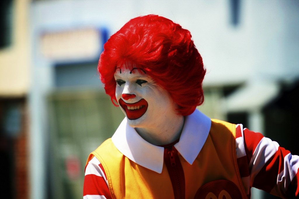 Why Ronald McDonald is keeping a Low Profile.
