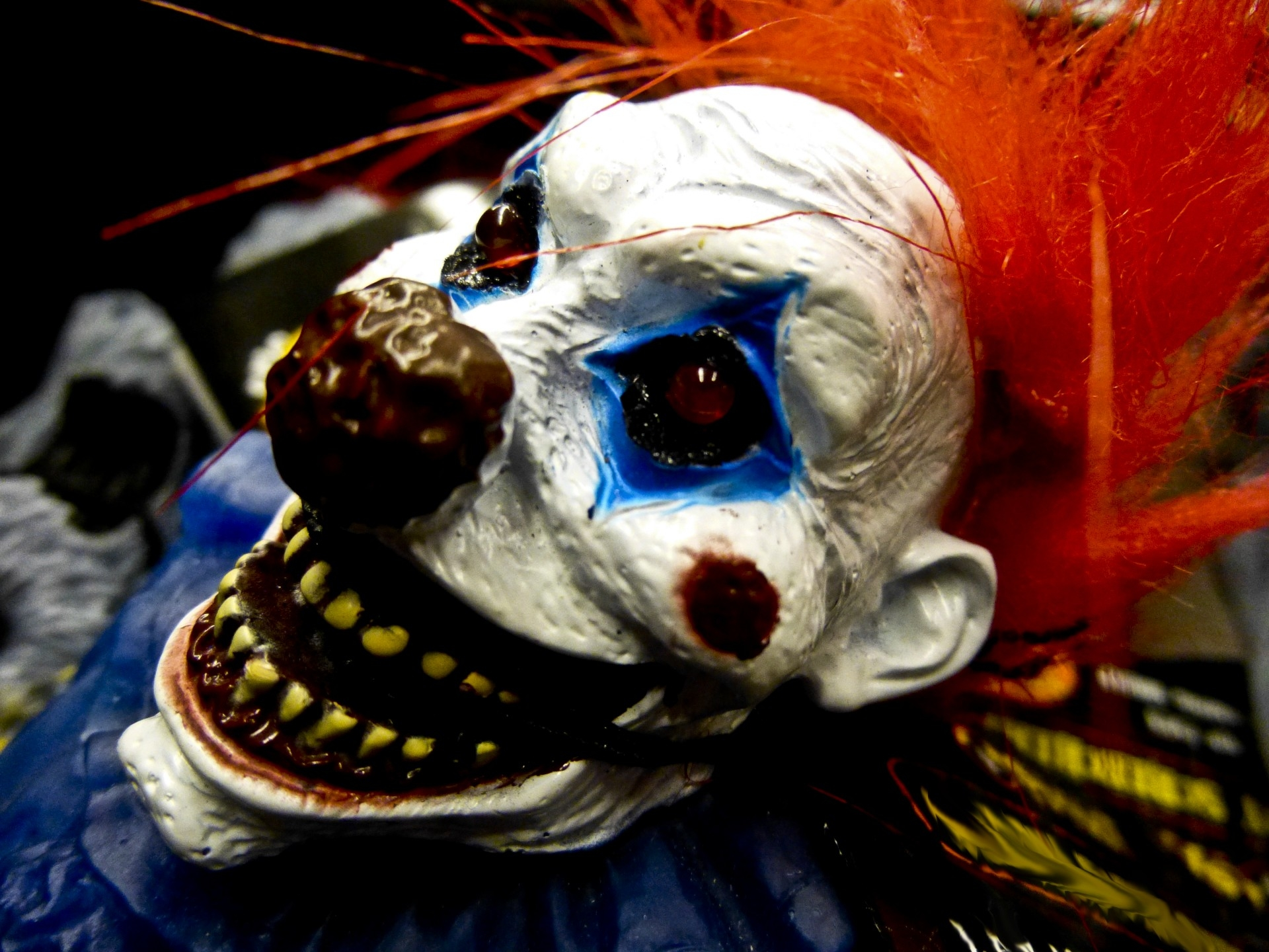 The scary clowns are migrating to our fair city!