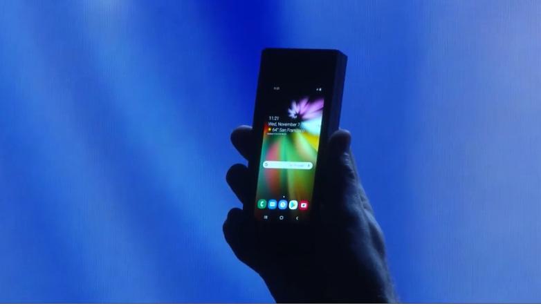 Foldable PHONES?!