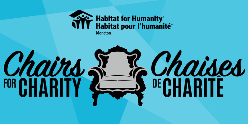 Chairs for Charity 2018 for Habitat for Humanity Moncton
