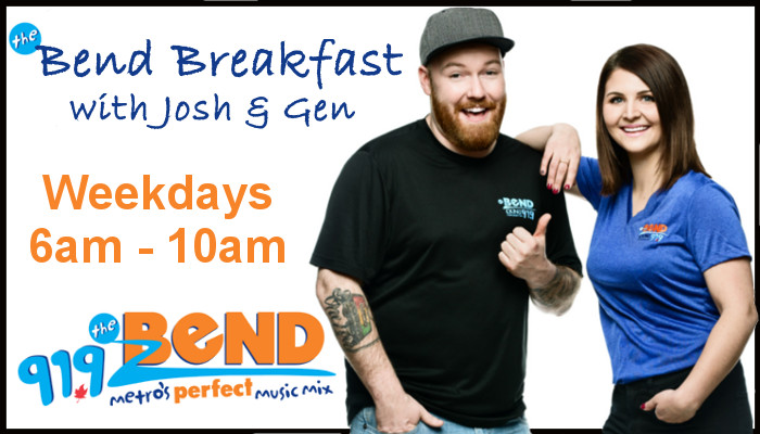 Feature: /the-bend-breakfast-with-josh-and-gen