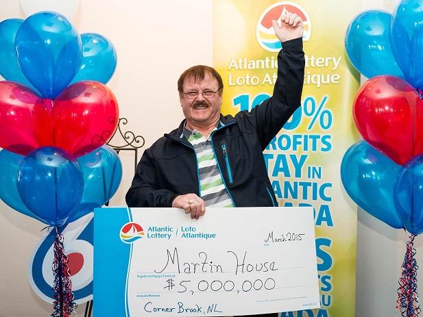 Semi-Retired Newfoundlander Wins $5 Million