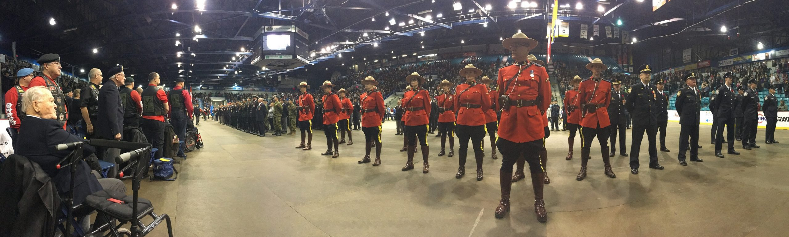 Several Different Choices To Honour Veterans, and First Responders Across Greater Moncton