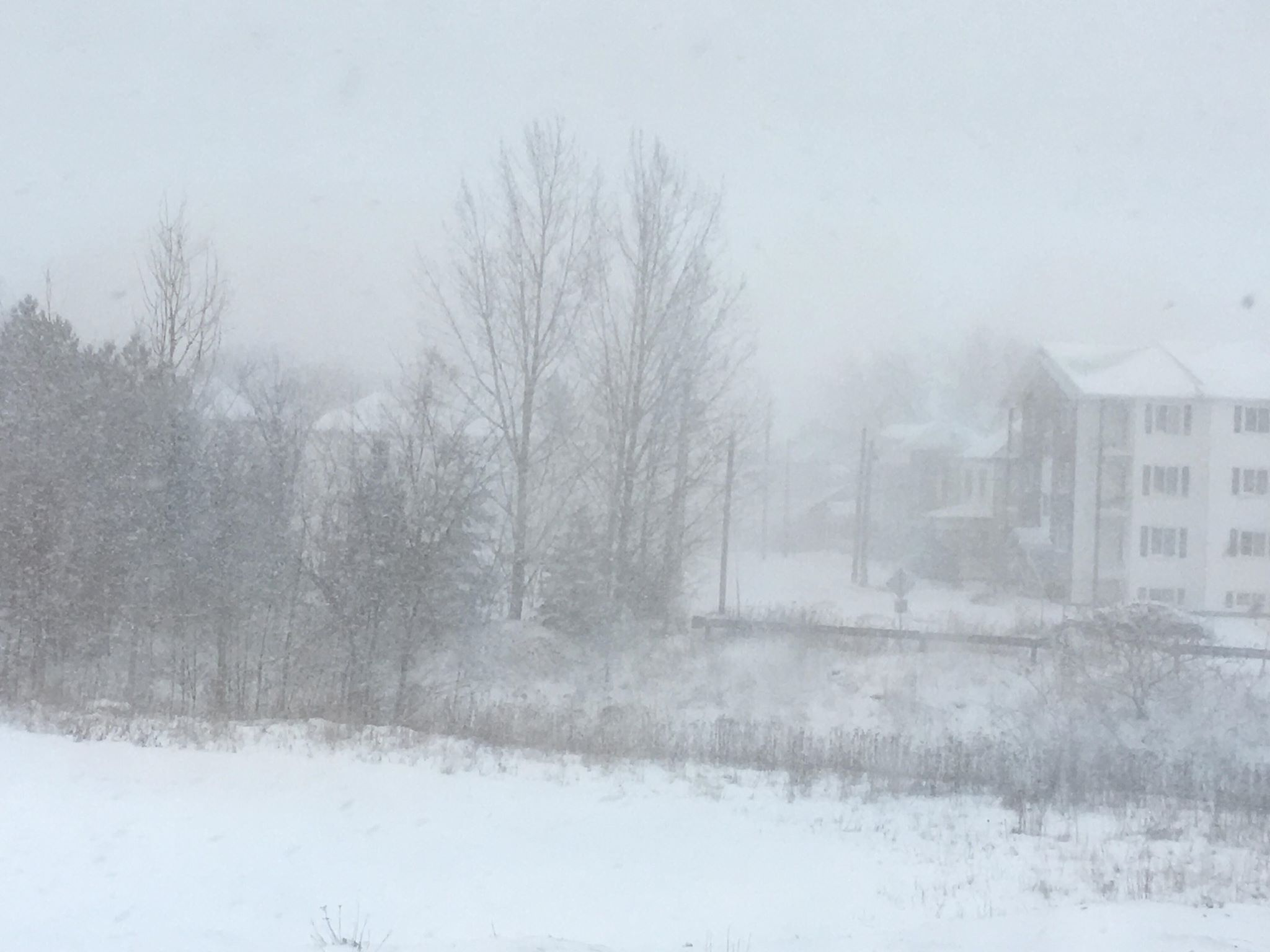 Snow Expected In Southeastern New Brunswick Monday & Tuesday
