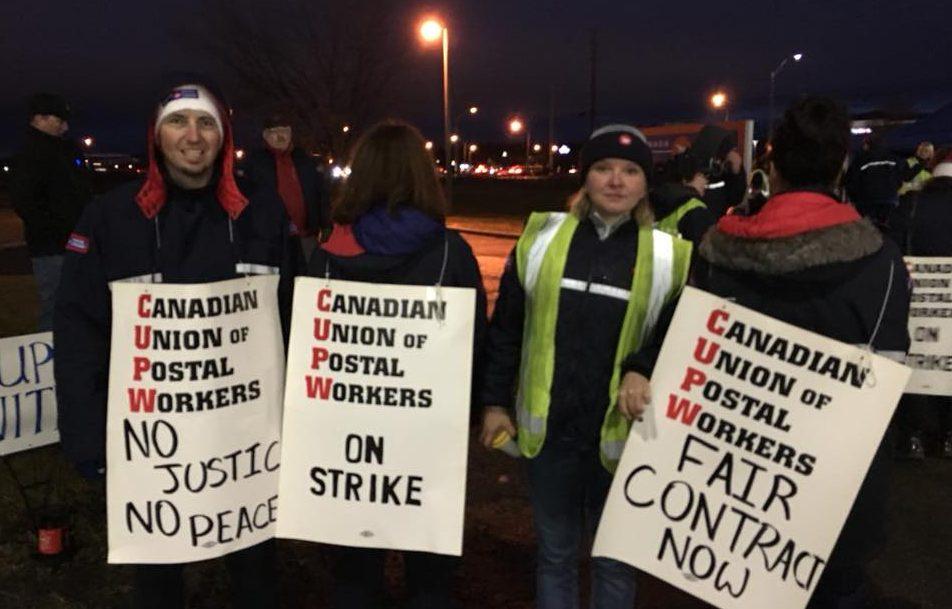 Government, Unions Go Head To Head Over Postal Strike Back-To-Work Legislation