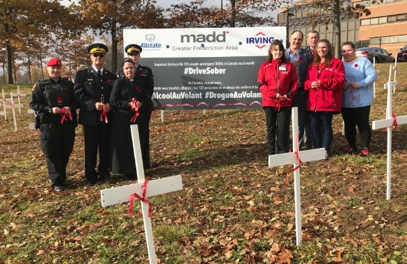 MADD And RCMP Launch Red Ribbon Campaign
