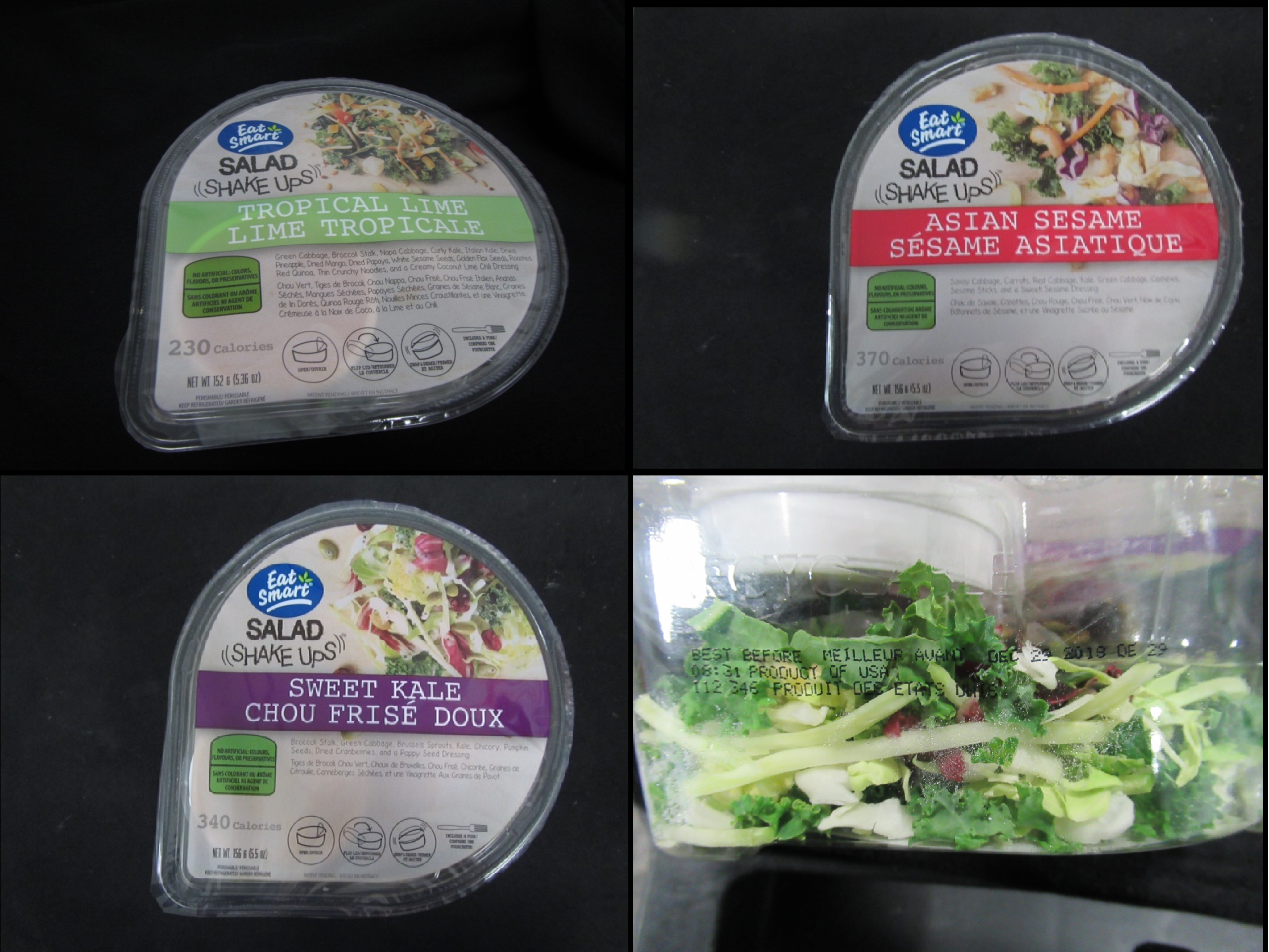 Eat Smart Single Service Salad Recall Expanded