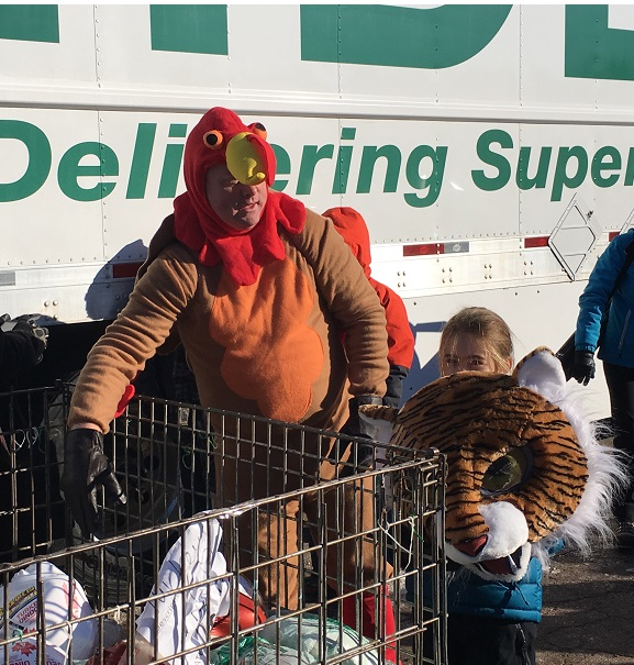 Bessborough School Students Hold Annual Turkey Trot