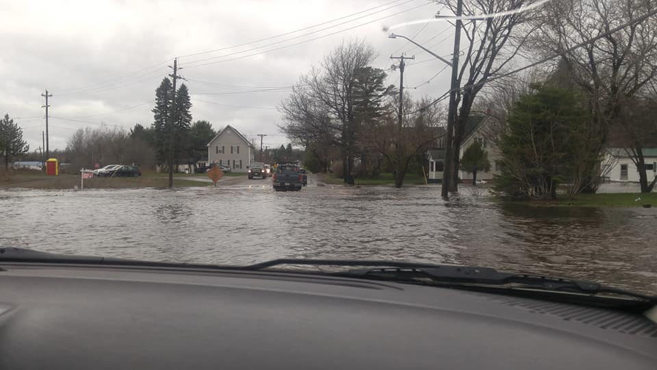 Chipman Residents Cut Off Due To Flooding