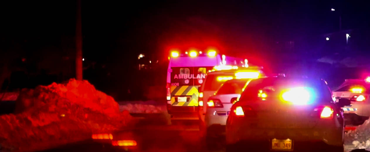 Two Taken To Hospital After Stabbing