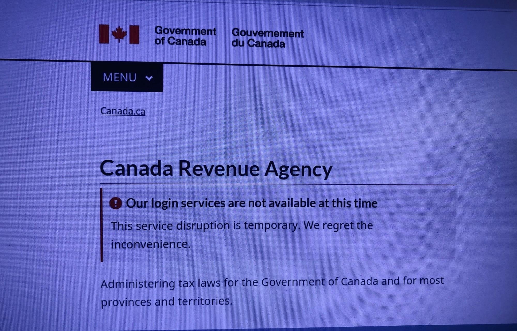 Hackers Breach Canada Revenue Website 91 9 The Bend