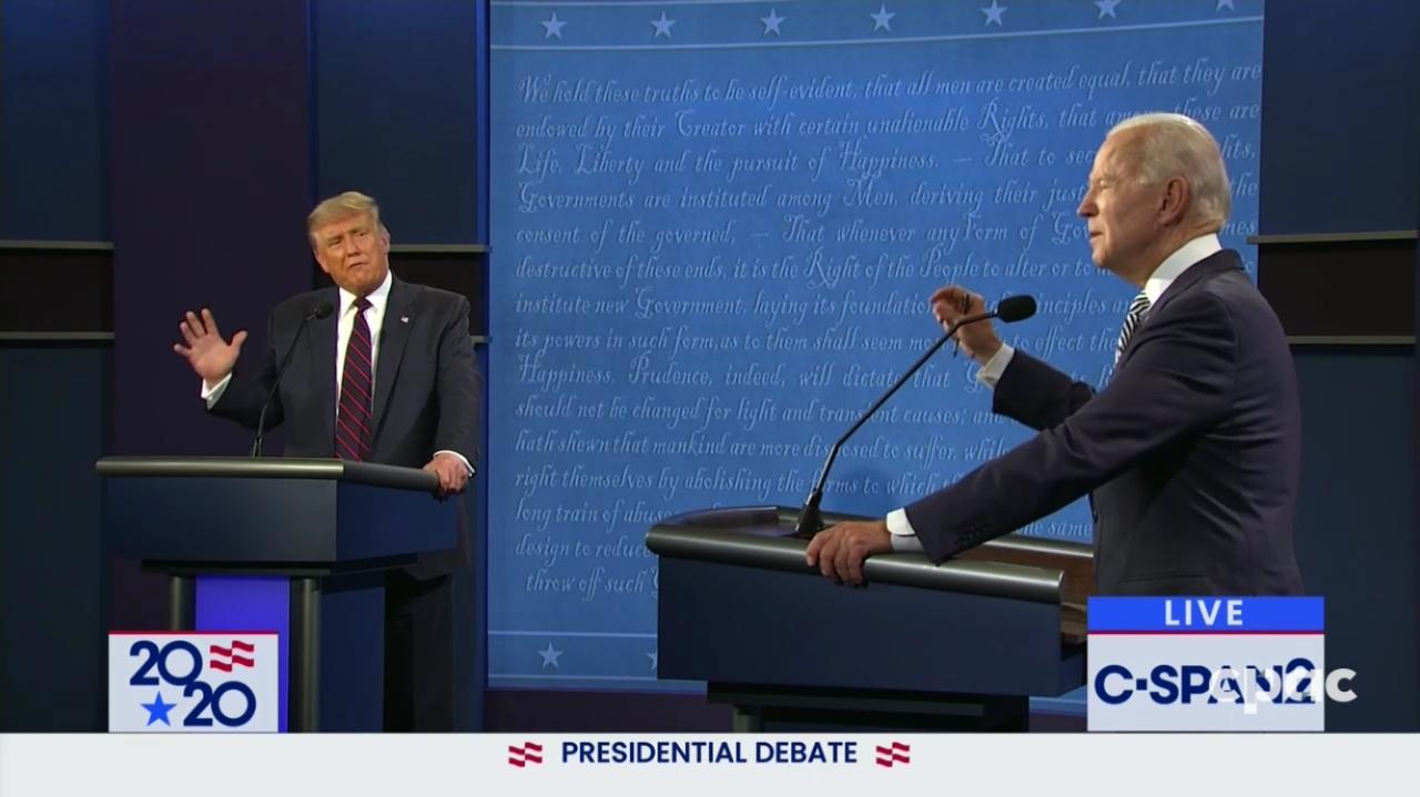presidential debate - photo #4